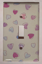 Heart Shape Love Catch Light Switch GFI Power Outlet wall Cover Plate Home Decor image 1