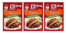 McCormick Gluten Free Taco Seasoning Mix 3 Packet Pack - $9.85