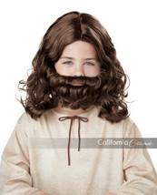 California Disfraces Jesús Peluca y Barba Infantil Bíblico Vacaciones, N... - £11.90 GBP