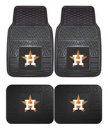 Houston Astros Car Mats 2pc or 4 Pc Set Front and Rear Heavy Duty Vinyl - $34.99+