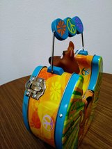 SCOOBY DOO!  Character with Spring Action Head Cartoon NetWork Tin Trinket/Lunch image 3