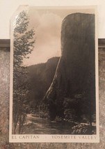EL CAPITAN - YOSEMITE VALLEY CA early real-photo postcard RPPC - Kodak P... - $7.49