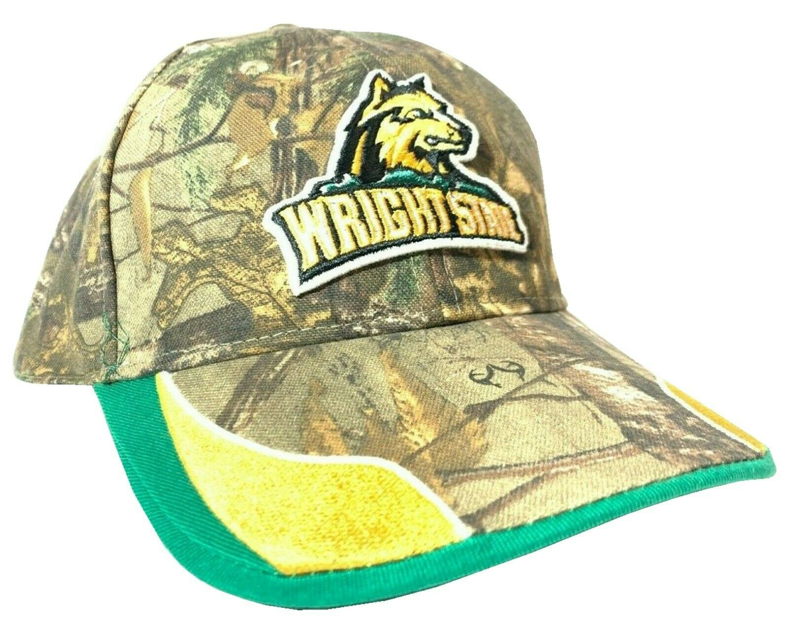 Wright State University Raiders NCAA Outdoor Camo Adjustable D-Fit Strap Hat - $17.95