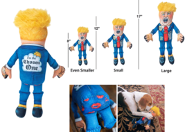 Donald Trump (2020 Special Edition) Political Parody Dog Chew Toy - £12.23 GBP+