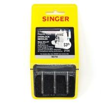 Vintage Singer Serger Needles 3 Premium Regular Point Overlock DCx1F 90/... - $14.01