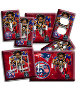 NEW ENGLAND PATRIOTS FOOTBALL TEAM LIGHT SWITCH... - $8.99 - $19.79