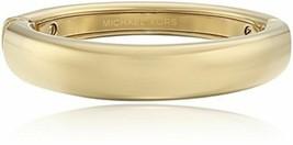 Michael Kors MKJ3644710 Gold Farbig Abgestuft Statement Scharnier Armreif - $76.55