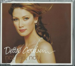 DELTA GOODREM - NOT ME, NOT I / RIGHT THERE WAITING 2003 UK 2 TRACK CD S... - $12.40