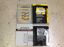 2001 Toyota Corolla Service Repair Shop Workshop Manual Set W Ewd & Transaxle + - $296.99