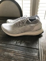 Adidas UltraBOOST Uncaged Running Shoes White Grey Womens Size 11 Brand New - $89.10