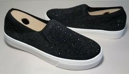 Skechers Size 7 POPPY STUDDED AFFAIR Black Sneakers Loafers New Women's ... - $98.01
