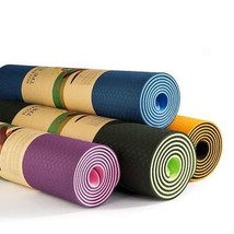 Double Sided Color Yoga Mat - $12.00