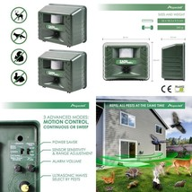 Yard Sentinel 2 Pack - Aspectek - Outdoor Ultrasonic Animal Control Pest... - $67.21