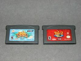 Nintendo Game Boy Advance: Tak Great JuJu Challenge + Tak 2 Staff of Dreams - $10.00
