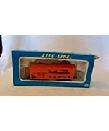 HO Scale Life-Like 30' D&RGW Rio Grande Two Bay Hopper, Orange, #18350, ... - $14.85