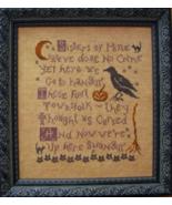 Salem Sisters sampler cross stitch chart Plum Street Samplers  - $7.20