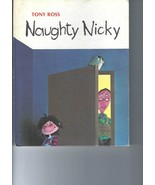 Weekly Reader Book for Children -- NAUGHTY NICKY, by Tony Ross (1983) - $6.50