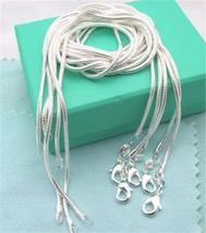Lose Money Promotion!!!Hot Sale Silver Necklace ChainS 925 Stamped Fashi... - $2.99