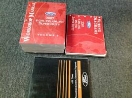 2007 FORD TRUCK F-250 F-350 F450 550 Service Shop Repair Manual Set W EWD + 6.0 - $395.99