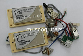 EPI ProBucker N and B Pickups with Pro Wiring Harness Pots /w 3 Way Swit... - $49.49