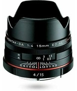 HD PENTAX-DA 15mmF4ED AL Limited black Super Wide-angle lens, DA Limited... - $505.77