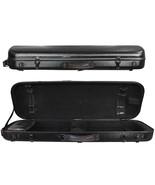 TONARELI Fiberglass Violin 4/4 OBLONG Hard Case - BLACK - New- 1 Year Wa... - $229.00