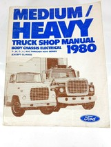 1980 Ford Medium Heavy Duty Body Chassis Electrical Truck Shop Service Manual - $13.82