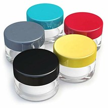 Small Size Empty Travel Jars - with Lids for Makeup, Lotion, Cream, Lip ... - $13.88