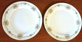 "Imperial China Floral Dinner Plate Made in Japan 10"" Set Of 2 - $21.78"