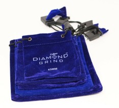Diamond Grind Grinder Kitchen Accessory Storage Bag Royal Blue lot of 5 ... - $12.75