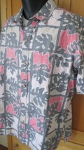 Vtg Cooke Street Liberty House Hawaiian Shirt Reverse Print XL - $14.85