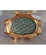 "Vintage Gold Gilt Painted Wood Photo Frame  6"" X 4.5"" - $23.38"