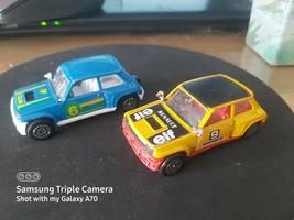 Corgi Junior Renault 5 Turbos Race Cars - Elf + Team Bp Issues - As Photos - $6.52
