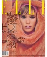 1985 Elle Macpherson Vintage Fashion Magazine Shakira Caine Rachel Ward ... - $40.42