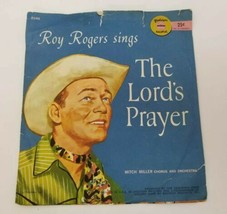 Roy Rogers Sings The Lord's Prayer Dale Evans Sings Ave Maria Yellow 78 ... - £8.69 GBP