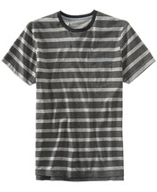 Levi's Men's Gray Heathered Striped T-shirt, Large - $18.80
