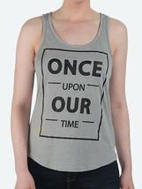 Bench Hirate Gráfico Camiseta Once Upon Nuestro Tiempo Gris Tanque Top Cami