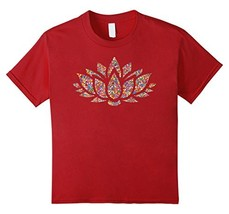 Lotus-Flower-Yoga-Meditation-Shirt Men - $16.99+