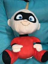 "Disney Pixar The Incredibles Large 15"" Jack Jack Baby Plush Pillow Buddy Doll - $21.29"