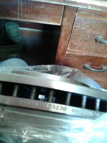 Frt Disc Brake Rotor AX53019 (jew)
