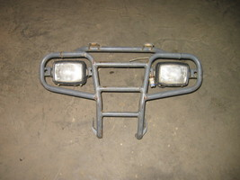 KAWASAKI 2002 300 FRONT BRUSH GUARD  WITH HEADLIGHTS  (BIN 49)  P-553I  ... - $60.00