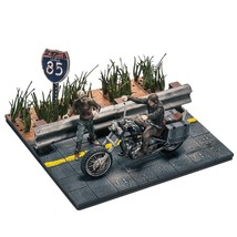 NEW McFarlane Toy Building Sets The Walking Dead TV Daryl Dixon with Cho... - $25.00