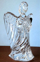 Waterford Crystal Guardian Angel Figurine Made Slovenia New In Box - $118.90