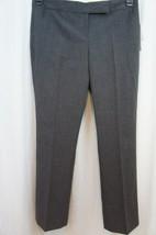 Laundry Dress Pants Sz 10 Charcoal Grey THE KIERA Modern Fit Straight Le... - $59.35