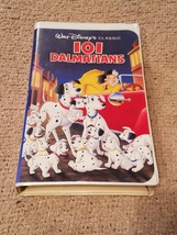 Disney's 101 Dalmatians black diamond edition VHS tape - $320.00