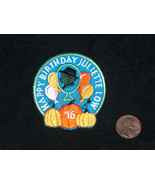 (1) 2016 GIRL SCOUTS Happy Birthday Juliette Low Patch Badge 4 Sash Jour... - $8.89
