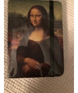 Mona Lisa Notebook Cover Elastic Band Closure Diary Lined 5 X 7 - $14.84