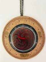 Game Of Thrones Kurt Adler House Sigil Christmas Ornament Targaryen Fire... - $43.53