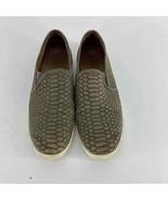 Joie Gray Snake Kidmore Flat Sneaker Womens 38.5  - $20.00