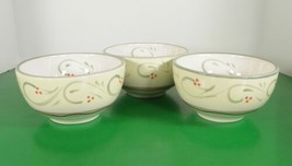 Pfaltzgraff Italian Vine Soup Cereal Bowl (S) Lot Of 3 Hand Painted - $26.68